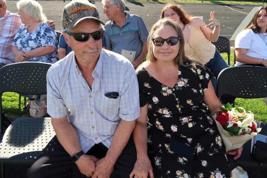 John Hunter and Kimberly Price.