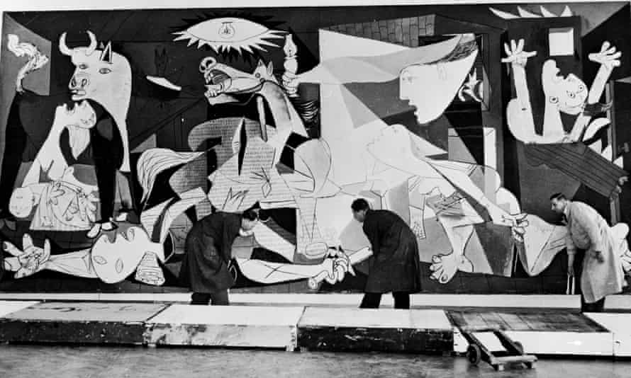 Pablo Picasso's painting Guernica.