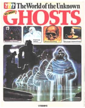 Usborne World of the Unknown Ghosts, a 1977 children's book that is being reissued after fans including Reece Shearsmith and Nick Frost came forward saying they loved it