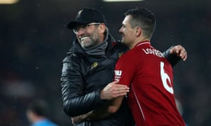 Dejan Lovren is expected to be in Jürgen Klopp's Liverpool lineup to face Arsenal on Saturday having started the last three games.