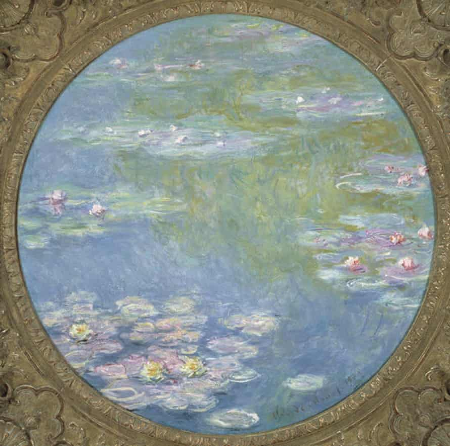 One of the three large water lilies by Monet, currently at the Dallas Museum of Art