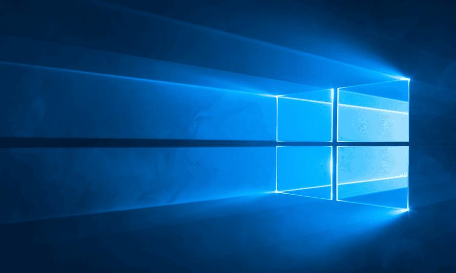 Screenshot from Windows 10 S showing the desktop