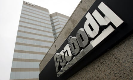 This Jan. 27, 2009 file photo shows the Peabody Energy headquarters building in St. Louis. The bankruptcy filing of Peabody Energy raises yet more questions about the ability of financially troubled coal companies to cover the potential cost of filling in mines that close.