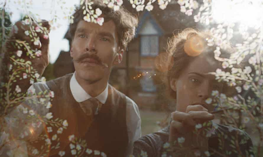 Benedict Cumberbatch and Claire Foy in The Electrical Life of Louis Wain.