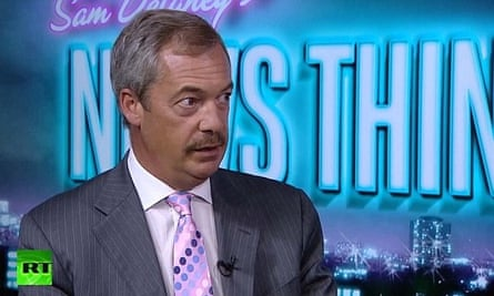 The former Ukip leader Nigel Farage has appeared on the satirical show Sam Delaney's News Thing, as has the liberal leader Vince Cable and the former Labour spin doctor Alastair Campbell