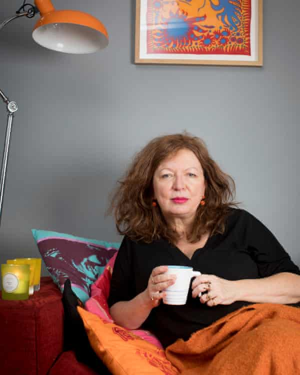 Suzanne Moore embracing hygge.