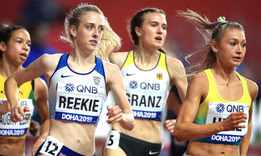 Jemma Reekie set a new British indoor record for the 800m on Saturday