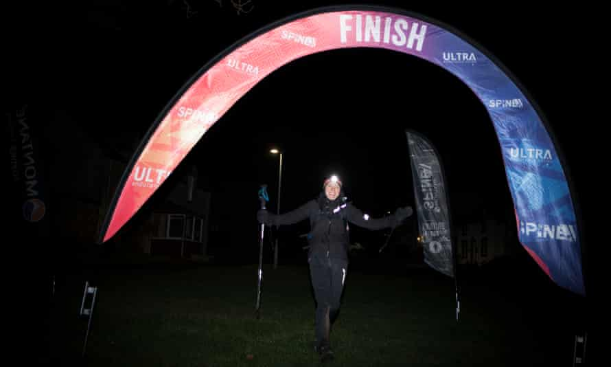 Paris crosses the finish line in a record 83 hours 12 minutes and 23 seconds.
