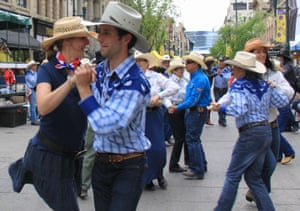 Calgary's traditional image is a swaggering city of oil riches, outsized cowboy hats and extra-large pickup trucks.