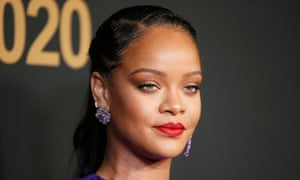 Rihanna pictured at the NAACP Image awards in February.