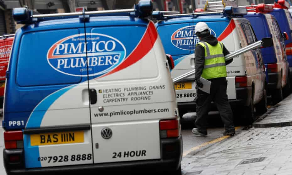 Pimlico Plumbers: now part of a 'global family of home service professionals'.