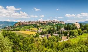 Orvieto in Umbria, Italy.