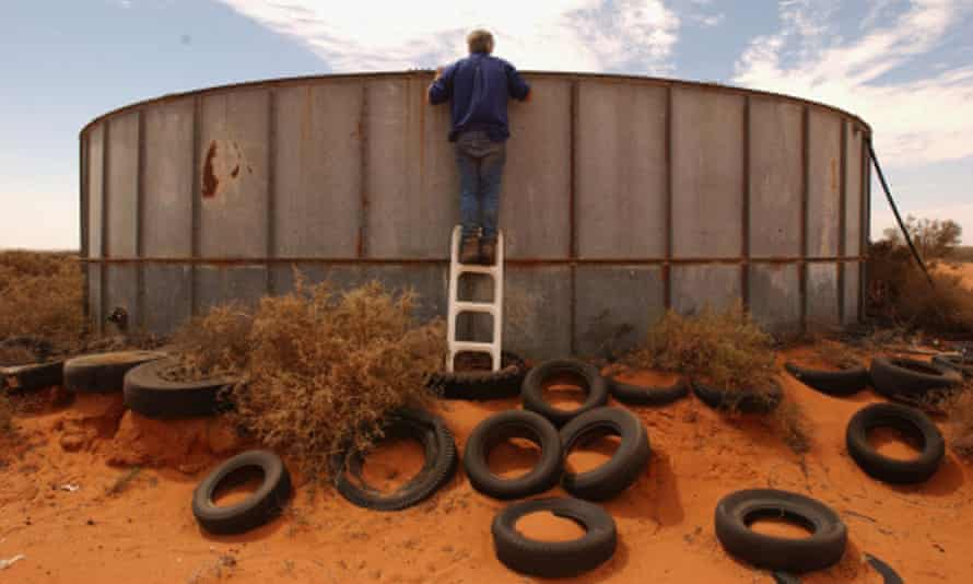 Outback Australia in drought