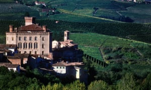 The Barolo Castle in Piedmont.