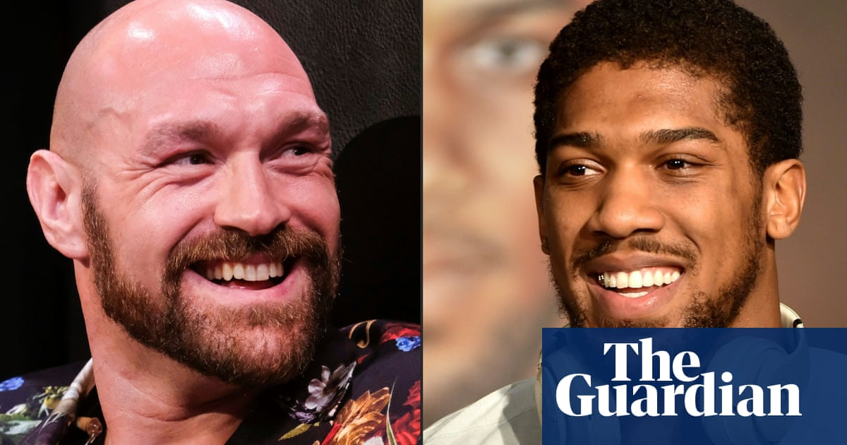 Tyson Fury and Anthony Joshua agree two-fight deal, claims Eddie Hearn