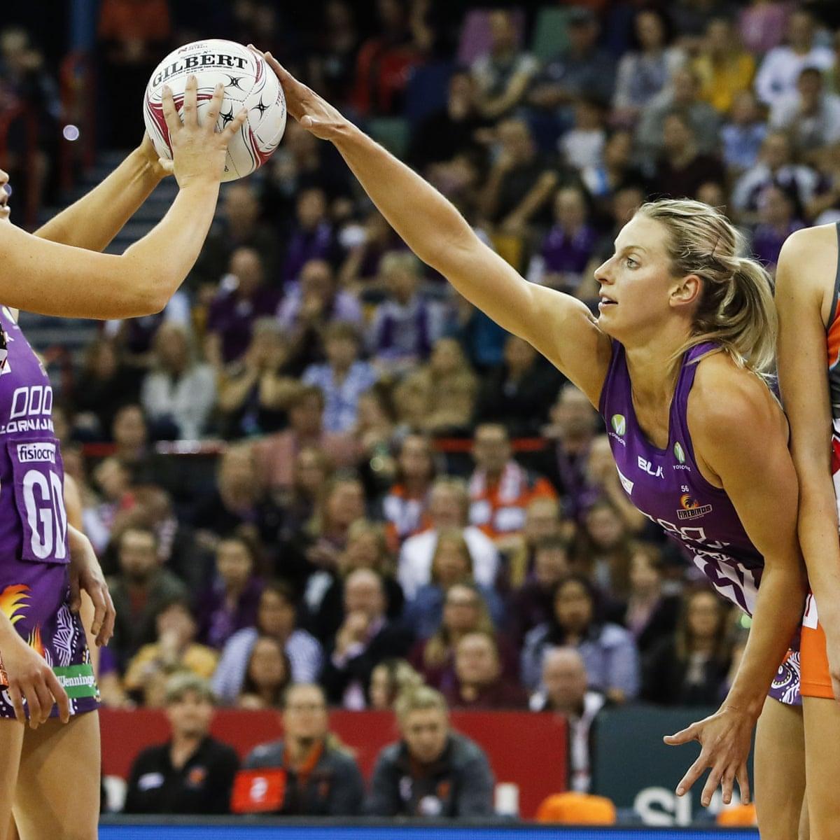 Retiring Geitz Stars In Firebirds Super Netball Win As Vixens Surge To Second Netball The Guardian