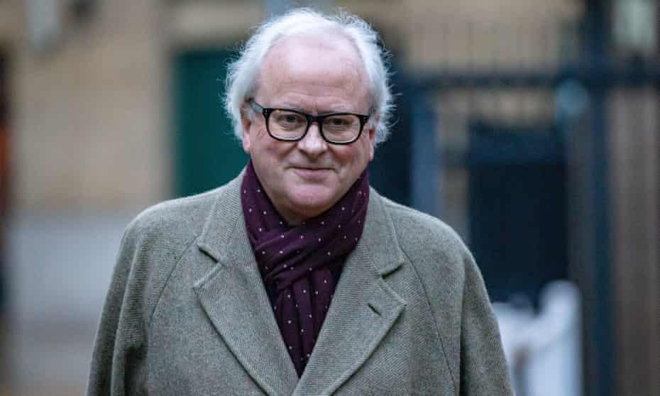 John Varley arrives at Southwark crown court