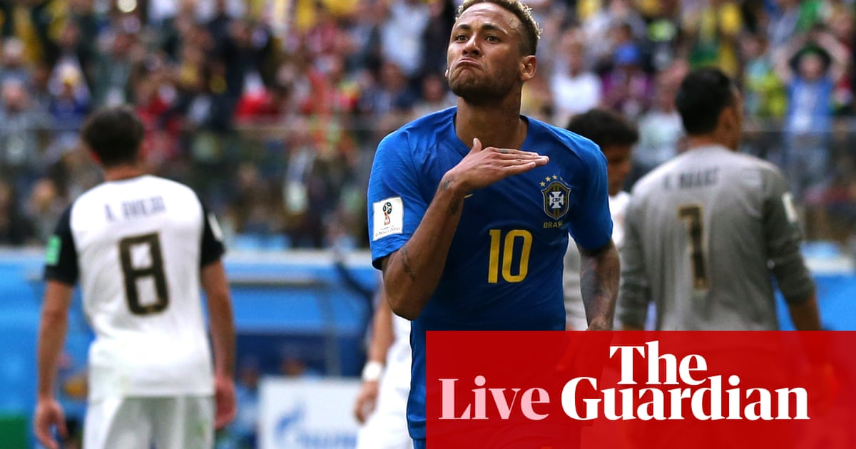 48af88754 Brazil 2-0 Costa Rica  World Cup 2018 – as it happened