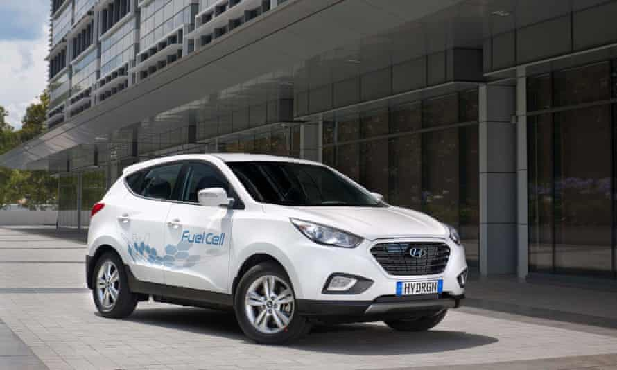 Hyundai's hydrogen car, the ix35 Fuel Cell.