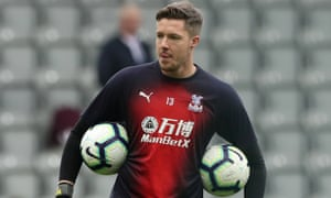 Crystal Palace's Wayne Hennessey was cleared of making a Nazi salute.