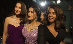 Ashley Judd, Salma Hayek and Annabella Sciorra.