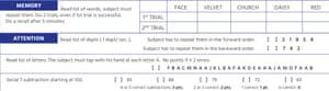 A screengrab of the MoCA cognitive test