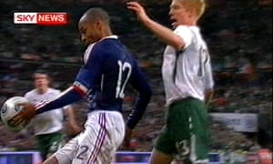 VAR should be used for incidents such as Thierry Henry's handball for France against Republic of Ireland, says Lineker, but not borderline calls.