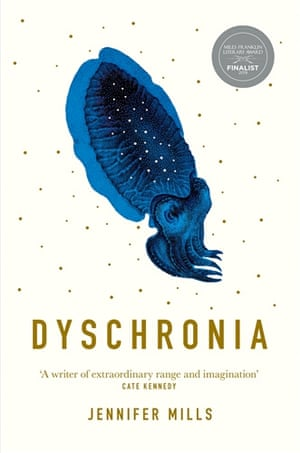 The cover of Dyschronia by Jennifer Mills
