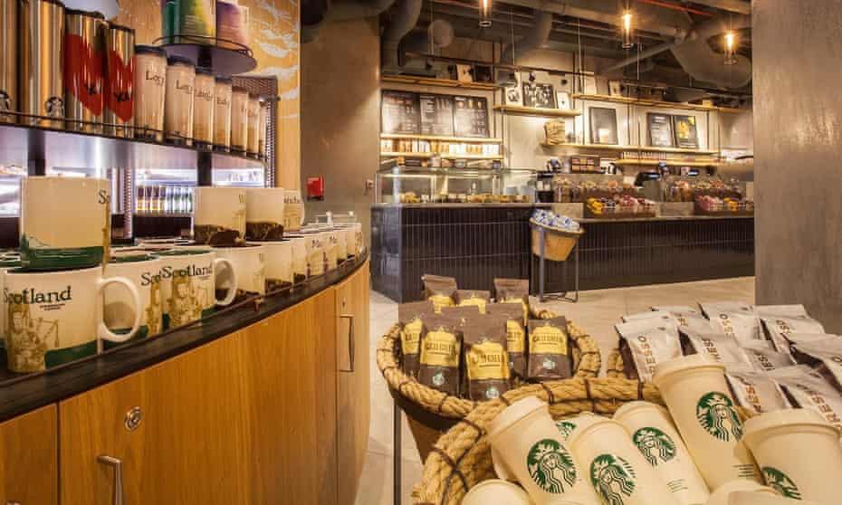 Starbucks at South Terminal. Gatwick airport