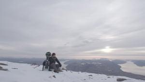 Mount IllerfissavikA spectacular view from Mount Illerfissavik, taken at 1,760 metres above sea level. The mountain rises above the tiny peninsula settlement of Igaliku by Tunulliarfik Fjord.