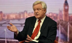 'No deal means we won't be paying the money,' Davis told The Andrew Marr Show