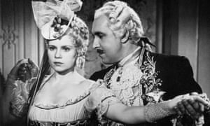 'Terribly many people fell in love with me' … Söderbaum pestered by Ferdinand Marian in Jud Süß.