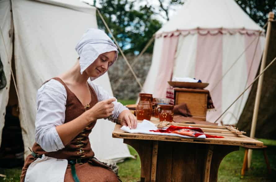 Dover Castle medieval re-enactment