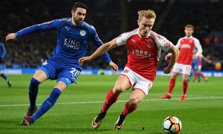 Leicester v Fleetwood, West Ham v Shrewsbury and more: FA Cup replays – live!