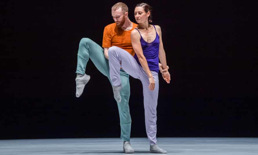 Riley Watts and Parvaneh Scharafali in Seventeen/Twenty One from A Quiet Evening of Dance.