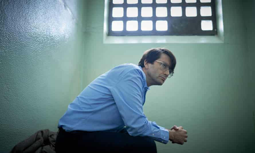 A spare and lonely life ... David Tennant as Dennis Nilsen in Des.