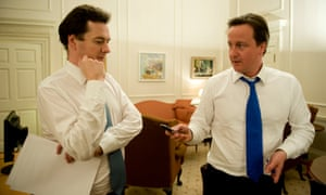 George Osborne and David Cameron on the night the latter became prime minister in 2010.