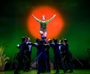 Amelia Lily in Shrek the Musical, Millennium Centre, Cardiff, 2018