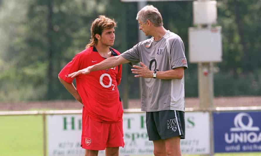 Arsène Wenger brought Cesc Fàbregas through at Arsenal last decade but believes young players today exist in too intense a climate.