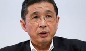 Nissan CEO Hiroto Saikawa