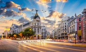 Madrid's Gran Via