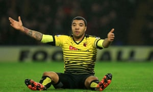 The captain Troy Deeney says he has no intention of leaving Watford.