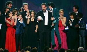The cast of Stranger Things.