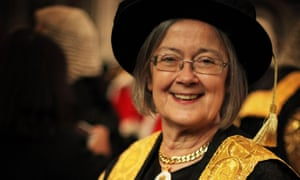 Lady Hale is the first woman to lead the supreme court.