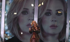 Adele at the Brits 2016