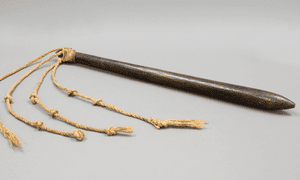 Profound evocations: the whip owned by David Blackburn, commander of the Sirius