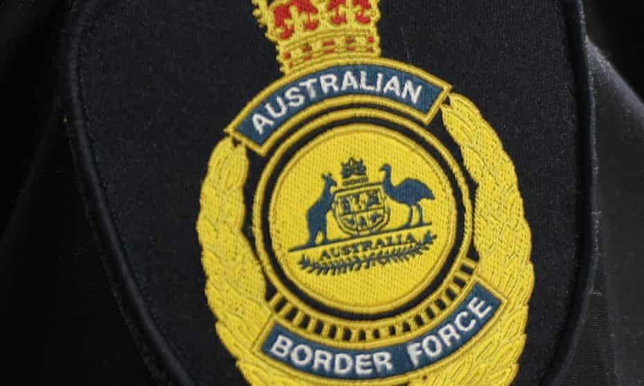 An Australian Border Force badge