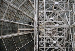 interior of Lovell Telescope