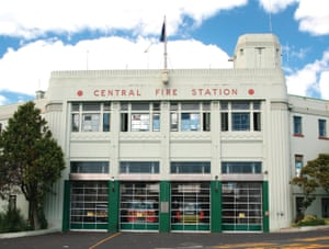 Central Fire Station, Auckland, 1944