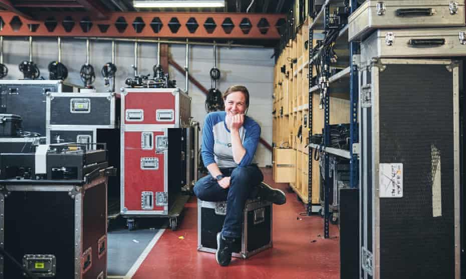 Sound engineer Beth O'leary 007